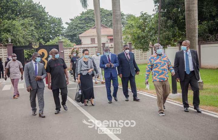 President For ECOWAS Bank For Investment And Development Pays Courtesy Call On Otumfuo