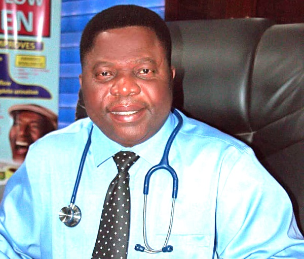 Frequency of sex minimises prostate problems — Dr Dogbatsey