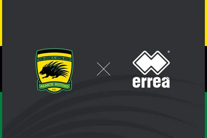 JUST IN: ERREA SPORT AND ASANTE KOTOKO S.C. HAVE SIGNED A 3 YEAR AGREEMENT!