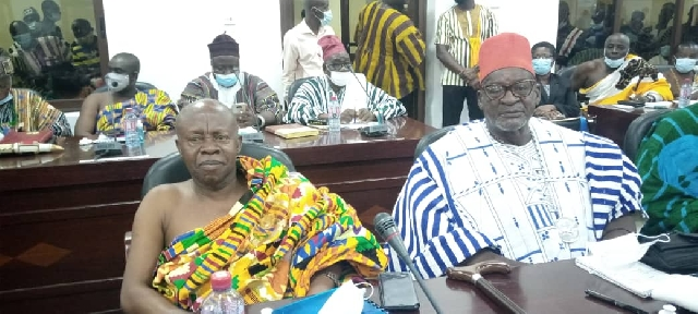 Ogyeahohuo Yaw Gyebi Unseat Togbe Afede XIV For National House of Chiefs Seat