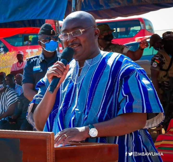 Vice President Bawumia Gifts A 39-Seater Bus To King Faisal FC
