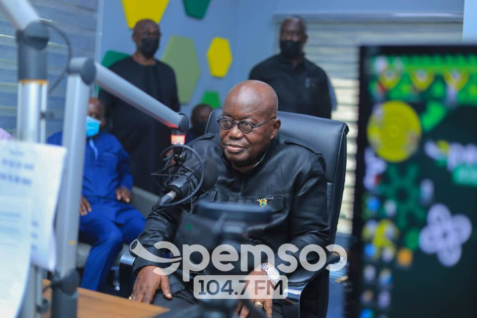 Both NDC and NPP agreed On Hon.Bagbin To Become The Speaker For The Eighth Parliament – Nana Akufo-Addo