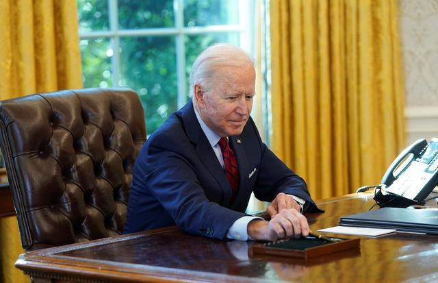 """U.S. President Joe Biden on Thursday reopened the nation's online health insurance marketplace for people who cannot obtain coverage through their employers, in a move he said was aimed at undoing """"damage"""" done by his predecessor Donald Trump."""
