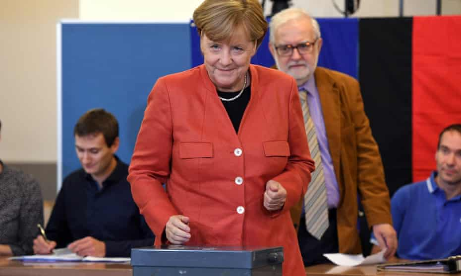 Merkel's party slumps to defeat in regional polls